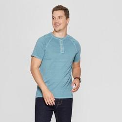 Men's Regular Fit Short Sleeve Henley Shirt - Goodfellow & Co™