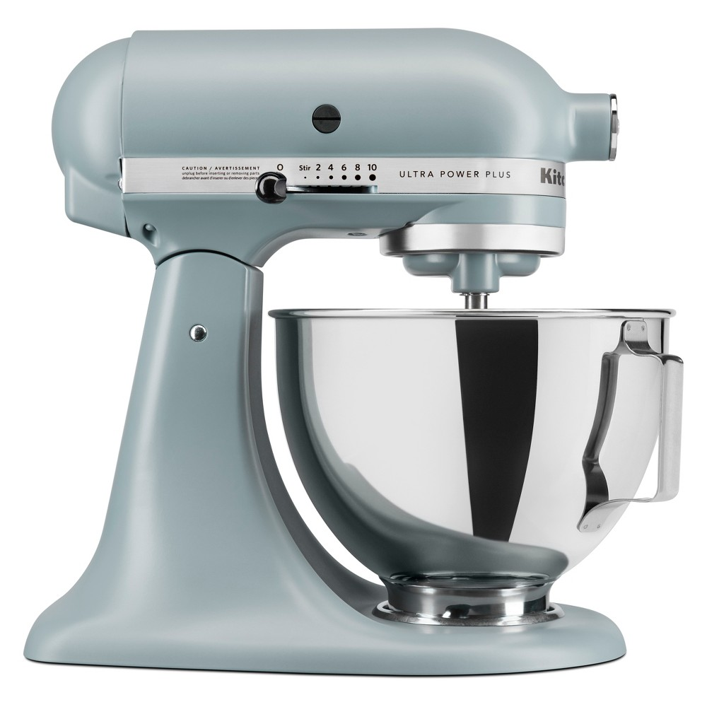 KitchenAid Ultra Power Plus 4.5qt Tilt-Head Stand Mixer – Fog Blue KSM96MF, Matte Fog 53439296