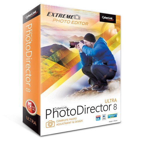 Cyberlink PhotoDirector 8 Ultra PC Software - image 1 of 1