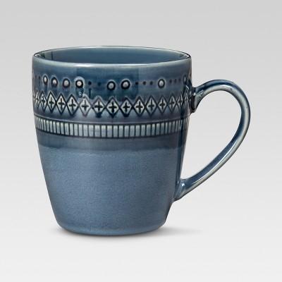 Kingsland Coffee Mug 16oz Set of 4 Blue - Threshold™
