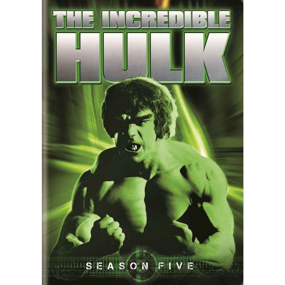 Incredible Hulk:Season Five (Dvd)