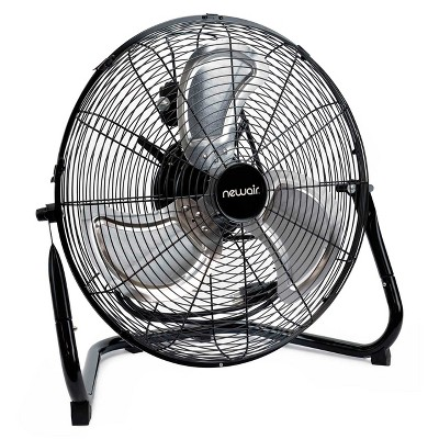 """NewAir 18"""" High Velocity Portable Floor Fan with 3 Fan Speeds and Long-Lasting Ball Bearing Motor"""