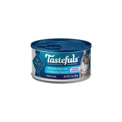 Blue Buffalo Tastefuls Adult Cat Chicken Entree in Gravy Morsels Wet Cat Food - 3oz