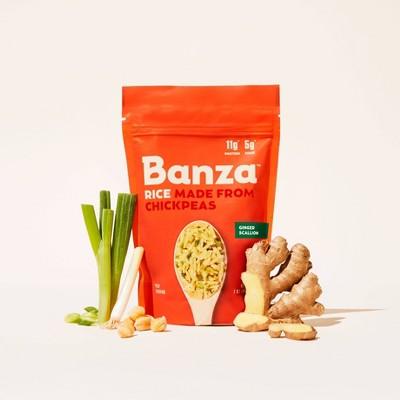 Banza Ginger Scallion Rice - 7oz