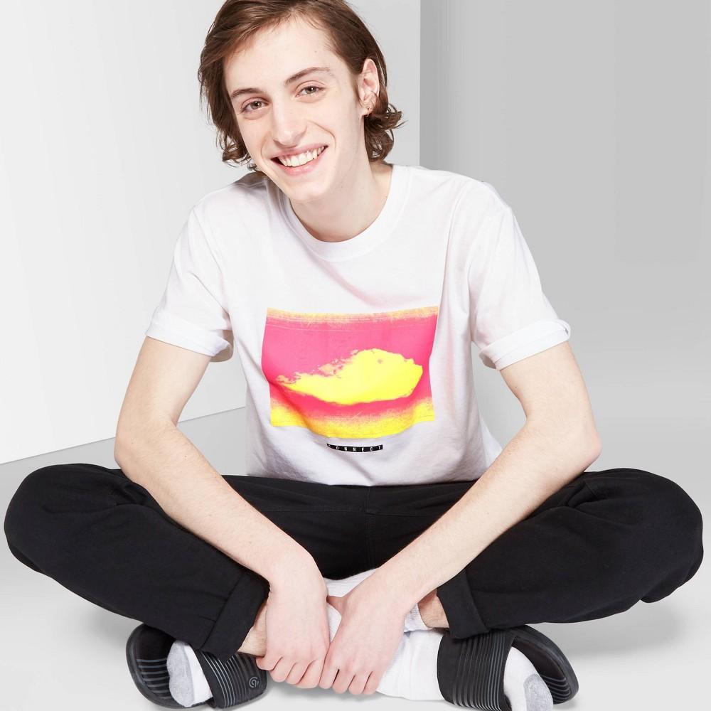 Men's Short Sleeve Silhouette Graphic T-Shirt - Original Use White 2XL
