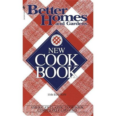 Better Homes and Gardens New Cook Book - (Crime Line)11 Edition (Paperback)
