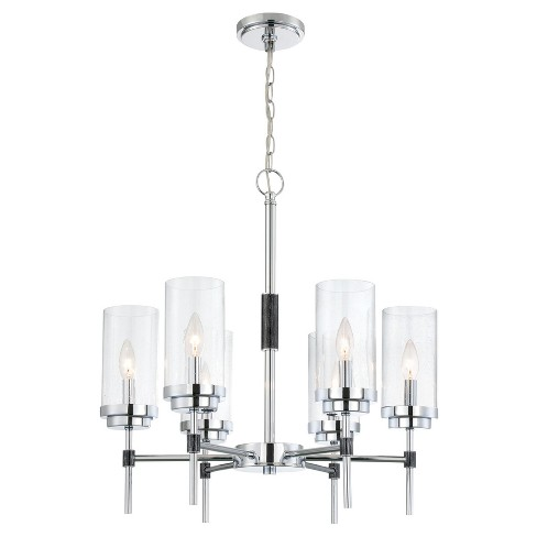 Ceiling Lights Quintana Chandelier - Chrome - Lite Source - image 1 of 2