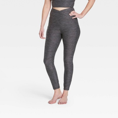 "Women's Contour Curvy Brushed Back Ultra High-Waisted 7/8 Leggings 25"" - All in Motion™"