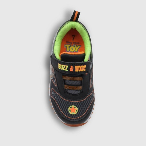 b73cb48be6ed4 Toddler Boys' Toy Story Light-Up Sneakers - Black
