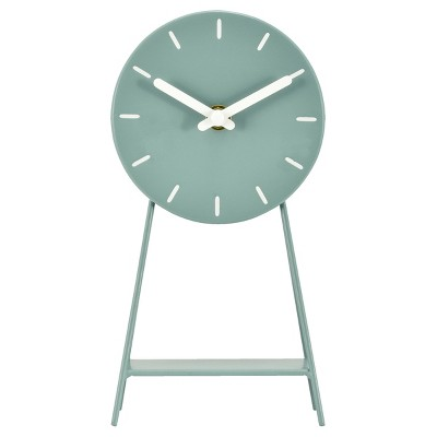 Metal Pedestal Desk Clock Sage - Project 62™