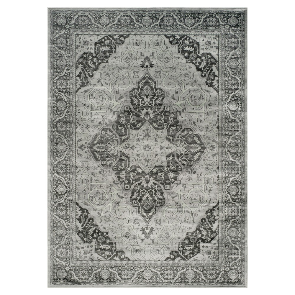 Lite Blue Medallion Loomed Area Rug 10'X14' - Safavieh