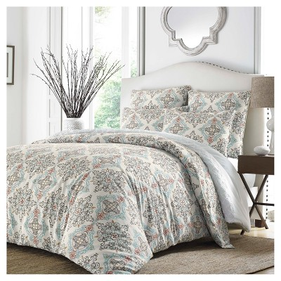 Turquoise Darville Comforter Set (King)- Stone Cottage