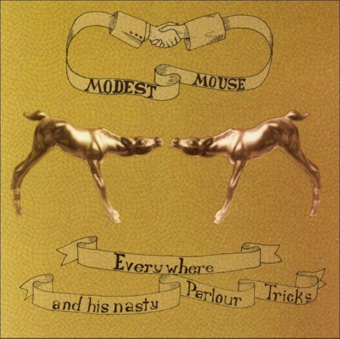 Modest mouse - Everywhere & his nasty parlour tricks (CD) - image 1 of 1