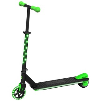 Jetson Neo Electric Kick Scooter with LED Lights - Green