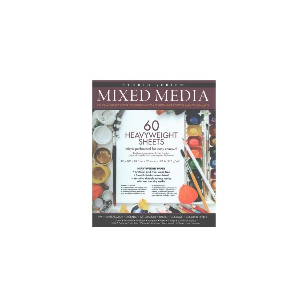 Studio Series Mixed Media Pad - (Hardcover)