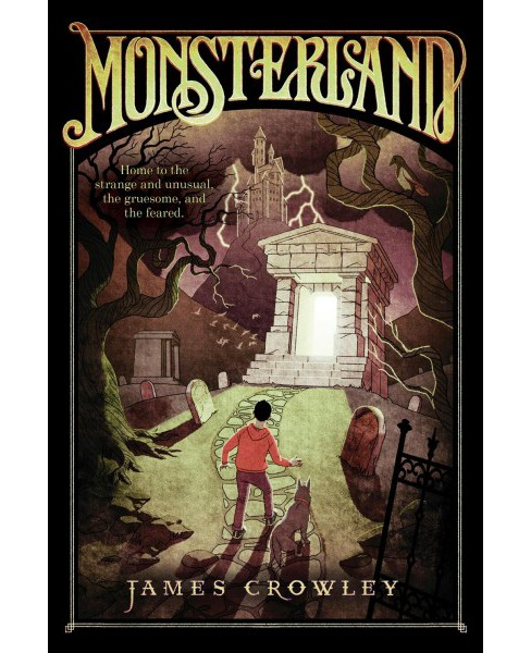 Monsterland -  Reprint by James Crowley (Paperback) - image 1 of 1