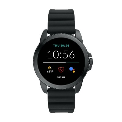 Fossil Gen 5E Smartwatch 44mm - Black with Black Silicone