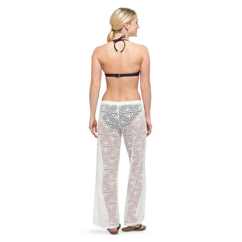 Womens Crochet Cover Up Pants Xhilaration Juniors Target