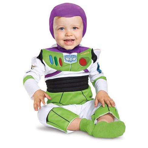 Baby Boys' Toy Story Buzz Lightyear Deluxe Halloween Costume - image 1 of 3