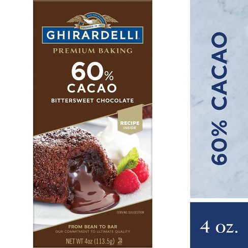 Ghirardelli 60% Cacao Bittersweet Chocolate Baking Bar - 4oz - image 1 of 4