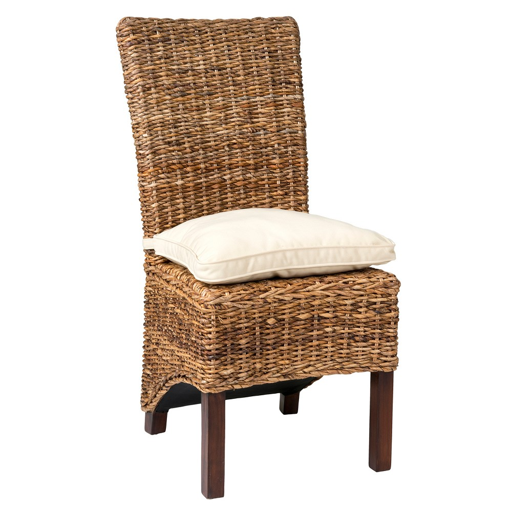 Milford Abaca Dining Chair Brown - East At Main