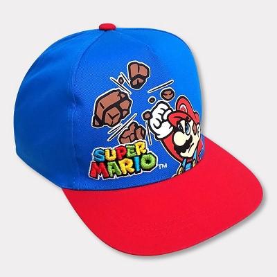 Boys' Nintendo Super Mario Hat - Blue