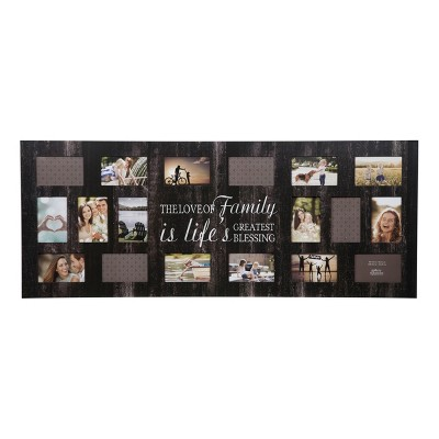 Multiple Image 18 Opening Family Collage Frame - Gallery Solutions