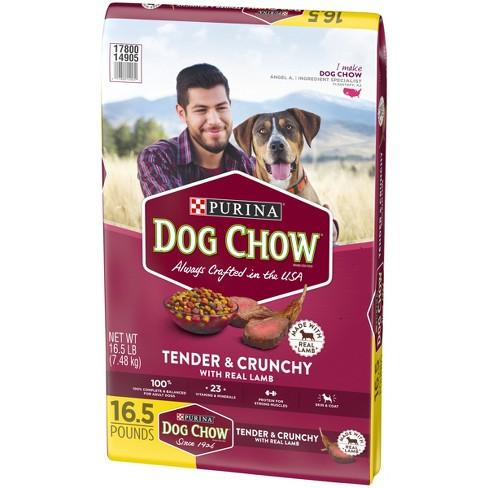 Purina Dog Chow Tender & Crunchy Dry Dog Food - 16 5lbs