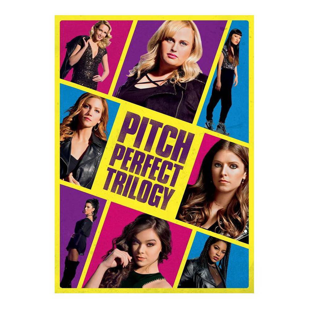 Pitch Perfect Trilogy (DVD)