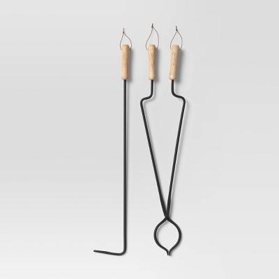 2pc Fireplace Tool Set - Smith & Hawken™