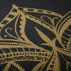 Gaiam Metallic Bronze Printed Yoga Mat - Black (6mm) - image 4 of 4