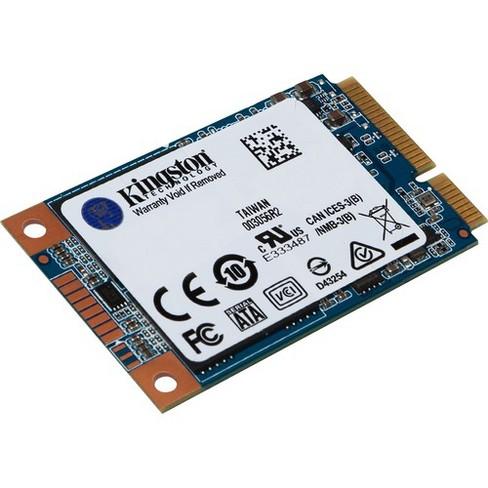 Kingston UV500 120 GB Solid State Drive - mSATA Internal - SATA (SATA/600) - 520 MB/s Maximum Read Transfer Rate - 256-bit Encryption Standard - image 1 of 3