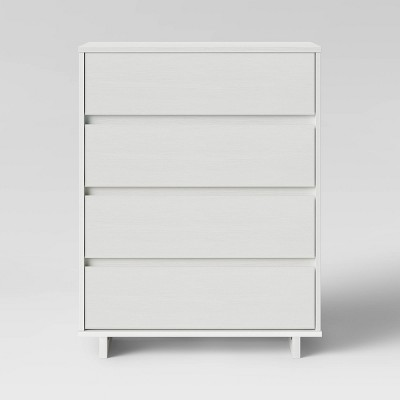 Modern 4 Drawer Dresser White - Room Essentials™