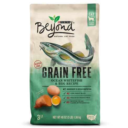 Purina® Beyond Grain Free Ocean Whitefish & Egg Dry Cat Food - image 1 of 6