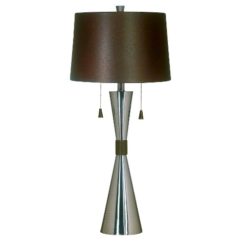 Kenroy Home Table Lamp - Stainless Steel - image 1 of 2