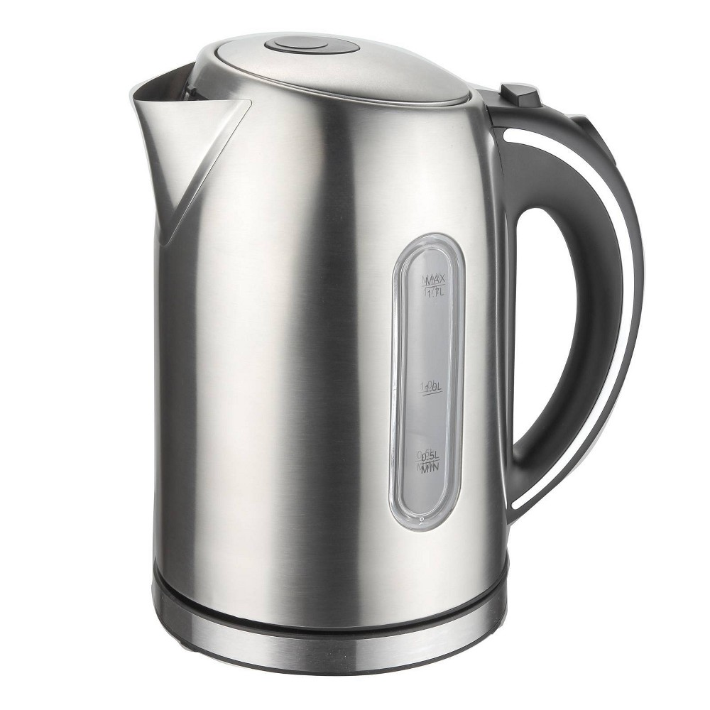 Image of MegaChef 1.7L Electric Tea Kettle - Silver