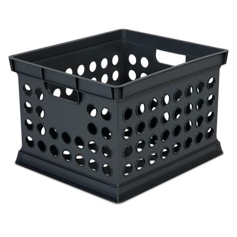 Storage Crate Black - Room Essentials™ - image 1 of 3