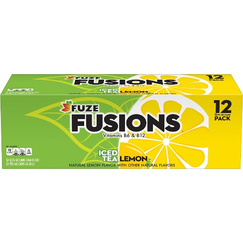 Fuze Lemon Iced Tea - 12pk/12 Fl Oz