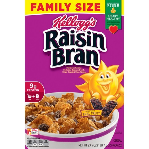 Raisin Bran Breakfast Cereal - 23.5oz - Kellogg's - image 1 of 10