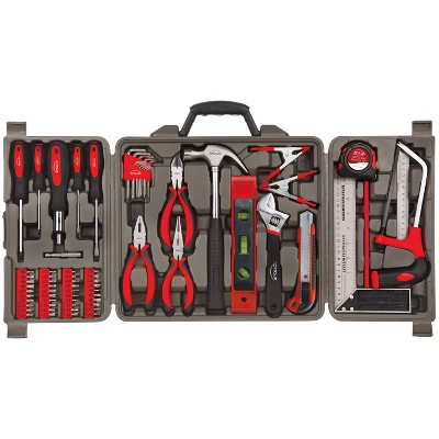 Apollo Tools 71pc DT0204 Household Tool Kit Red