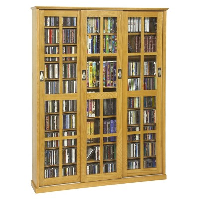 Triple Wide Media Storage Cabinet Collection Target