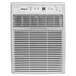 Frigidaire - 8000-BTU 115V Slider/Casement Room Air Conditioner with Full-Function Remote Control - White