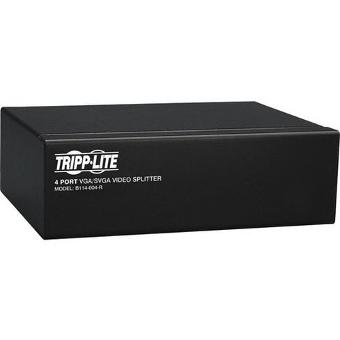 Tripp Lite 4-Port VGA / SVGA Video Splitter Signal Booster High Resolution Video - 4 x D-Sub (HD-15) Monitor, 1 x D-Sub (HD-15) Computer - image 1 of 3