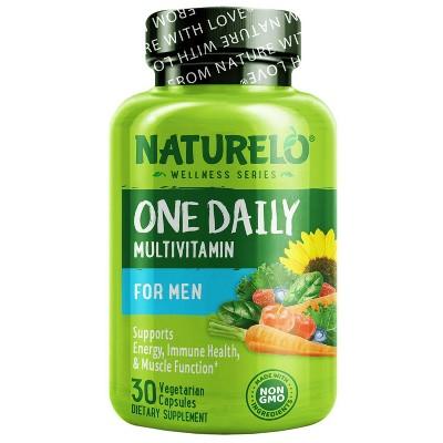 Naturelo One Daily Men Multivitamin Capsules - 30ct