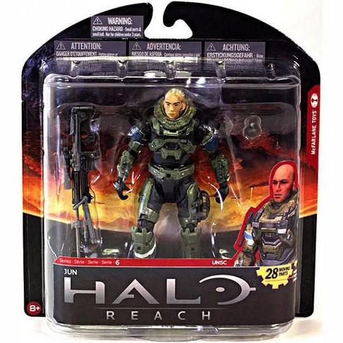 Halo Reach Series 6 Jun 5in Action Figure Unhelmeted McFarlane Toys