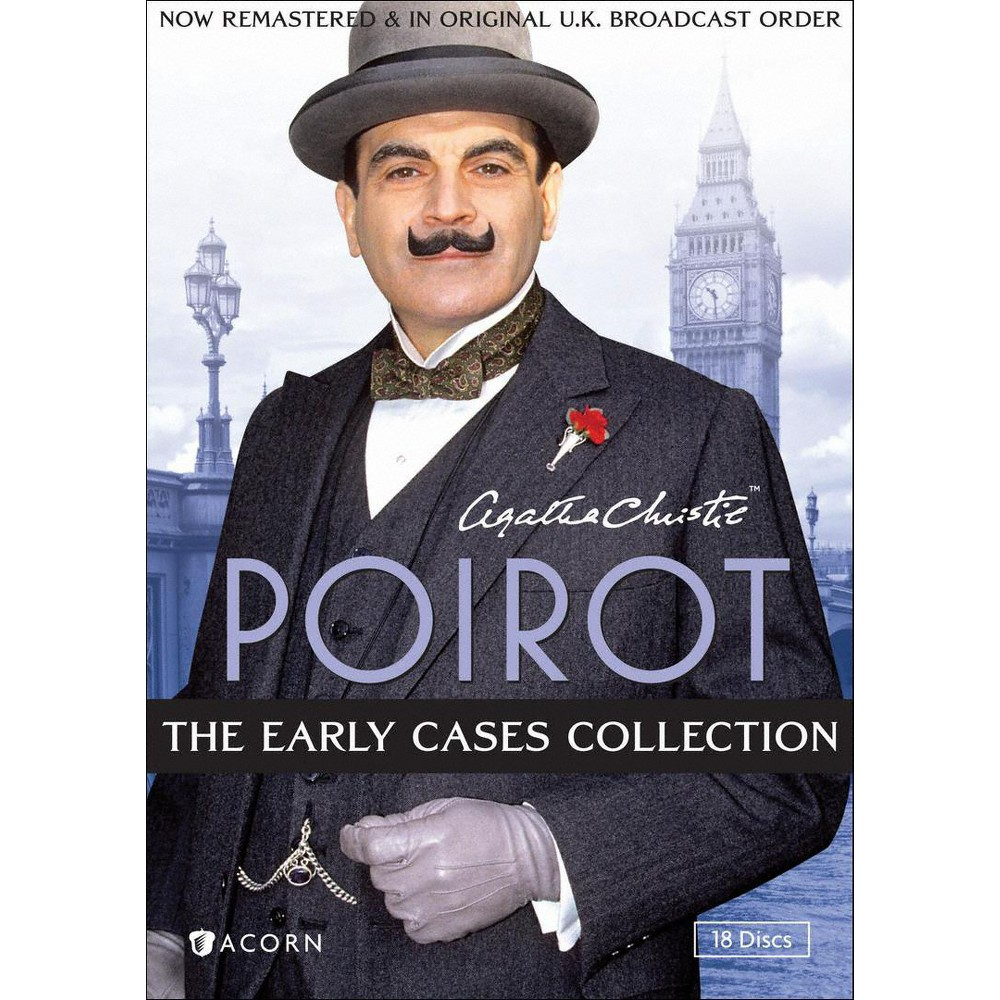 Poirot-early Collection (Dvd/18 Dis/48 Myst/Fs) (Dvd)