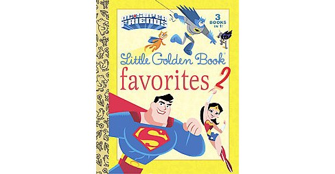 Dc Super Friends Little Golden Book Favorites (Hardcover) (Various & Golden Books Publishing Company & - image 1 of 1