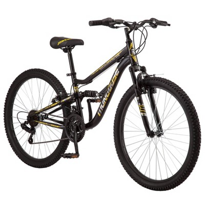 "Mongoose Men's Standoff 26"" Mountain Bike - Black"