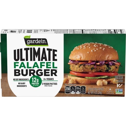 Gardein Ultimate Frozen Falafel Burger - 8oz - image 1 of 3