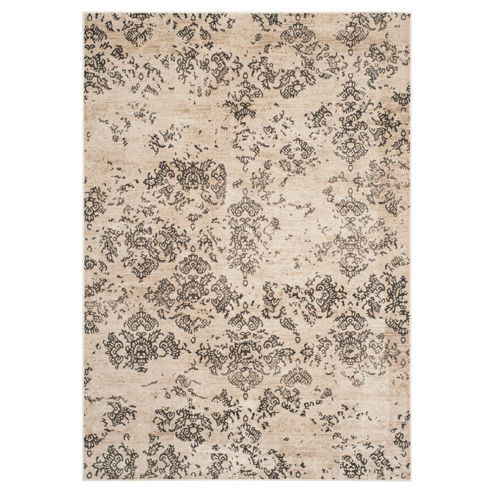 Cleo Vintage Accent Rug - Stone ( 3' 3